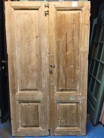 nr. set400 setje geloogde antieke deuren