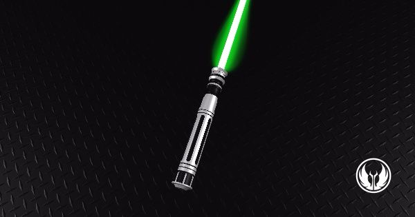 Adaptive Saber Parts Lightsaber I have constructed my saber, and the crystal is Green.