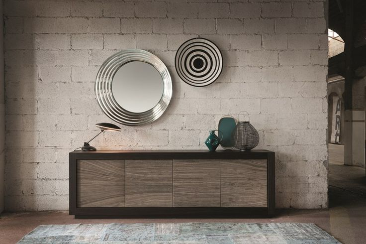 SIDEBOARD WITH DOORS PICASSO | STONE DOOR | RIFLESSI