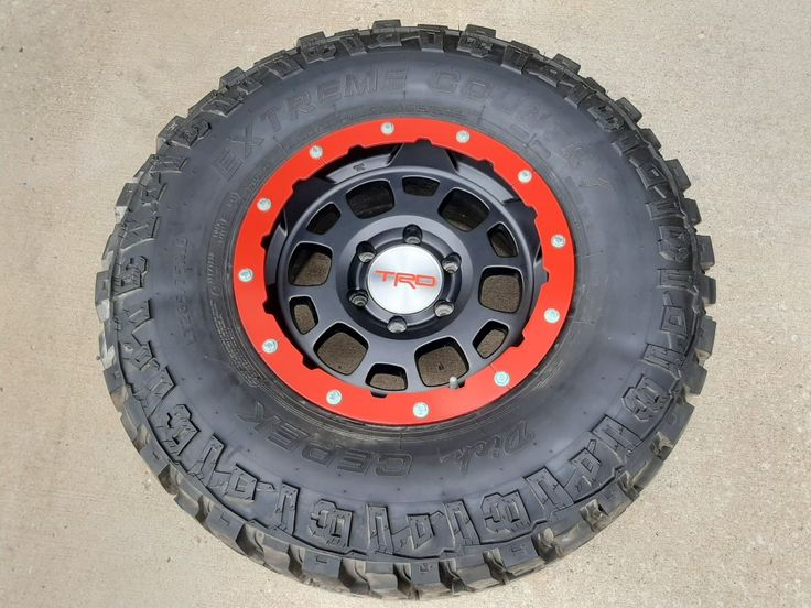 "RR2 Rock Rings for 16"" Toyota TRD ""Beadlock"" Style Wheels"