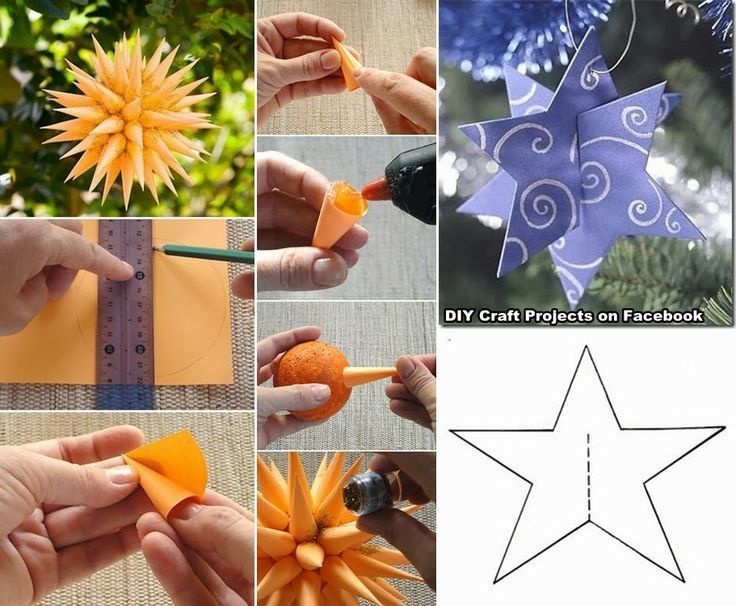 Diy Projects: Christmas Ornament Star
