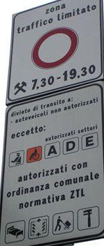 Slow Travel - Driving in Italy, traffic cameras, speeding, ZTL limited traffic zones