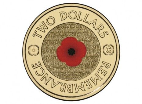 anzac day coins