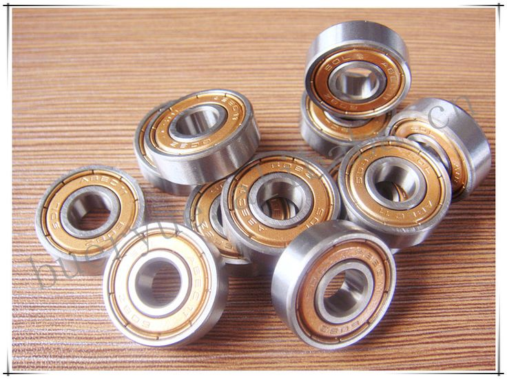 74L-03 Free shipping longboard Bearing roller skates cheap inline skates roller bearing 608ZZ skateboard parts gold shield 11