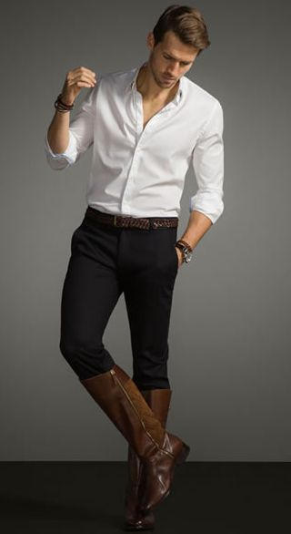 Men Wearing Riding Boots Things to Wear on Pinterest Equestrian 21