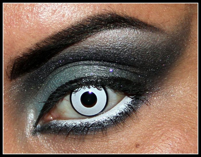 I think these white contact lenses look intense and would look good for some of the characters in our theme.
