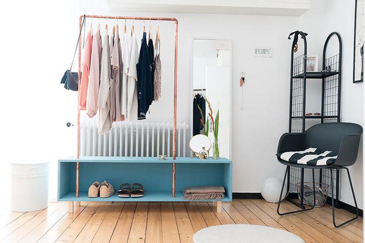 garderobe merle selber bauen aufbewahrung do it yourself pinterest house room und home. Black Bedroom Furniture Sets. Home Design Ideas