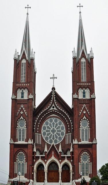 St Joseph's Catholic Church. 1888 Macon Ga by wpitts1964, via Flickr