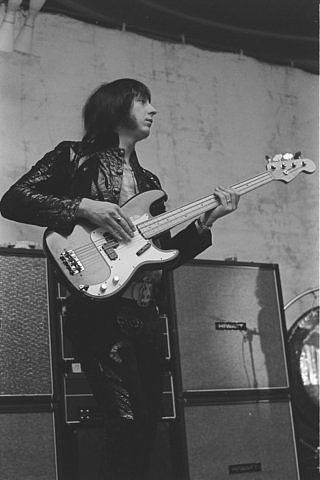 John Entwistle - the greatest rock bass player who ever lived.