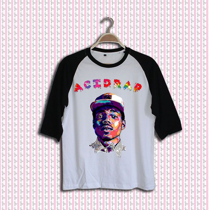 acidrap chance the rapper shirt tshirt clothing baseball raglan unisex  adult SS3