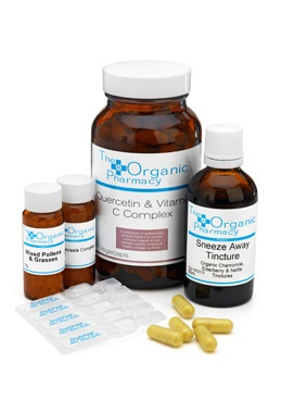 Organic Hayfever Relief Kit. All you need kit to keep seasonal allergies at bay.