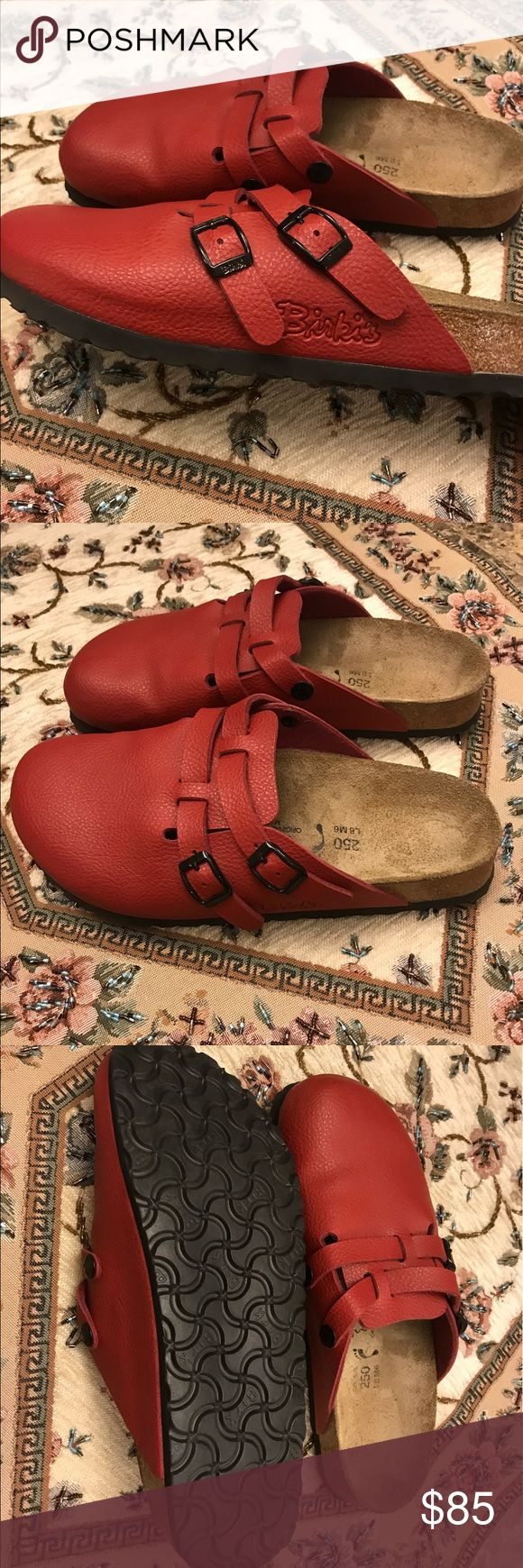 Birkenstock Camden Twin Strap Closed Toe Sandals Such a pretty color, only been worn twice. Very good condition. Lots of life left. Limited edition color. Ladies 8 Men's 6 Birkenstock Shoes Sandals