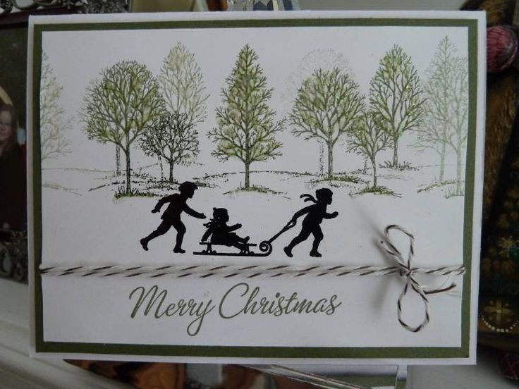 lovely as a tree stamps idea 2
