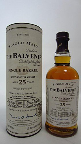 Balvenie – Single Barrel #6469 – 1978 25 year old: Balvenie Whisky Cardboard Tube 70cl / 700ml