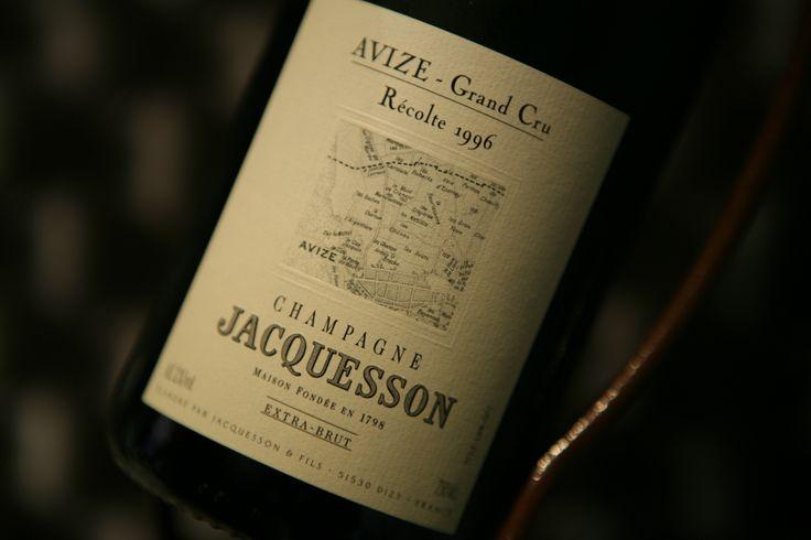 Champagne Avize - Grand Cru 1996. Domaine Jacquesson. #champagne #grandcru