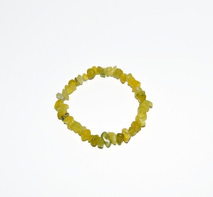 Olive green bracelet, natural peridot beaded bracelet #Handmade #Beaded