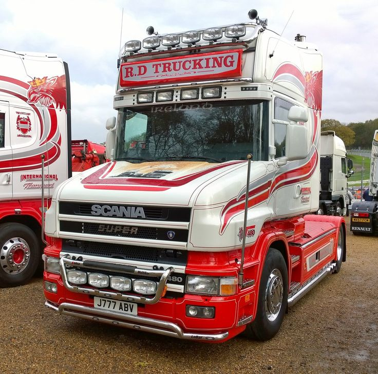 Scania T cab - Brands Hatch 2014