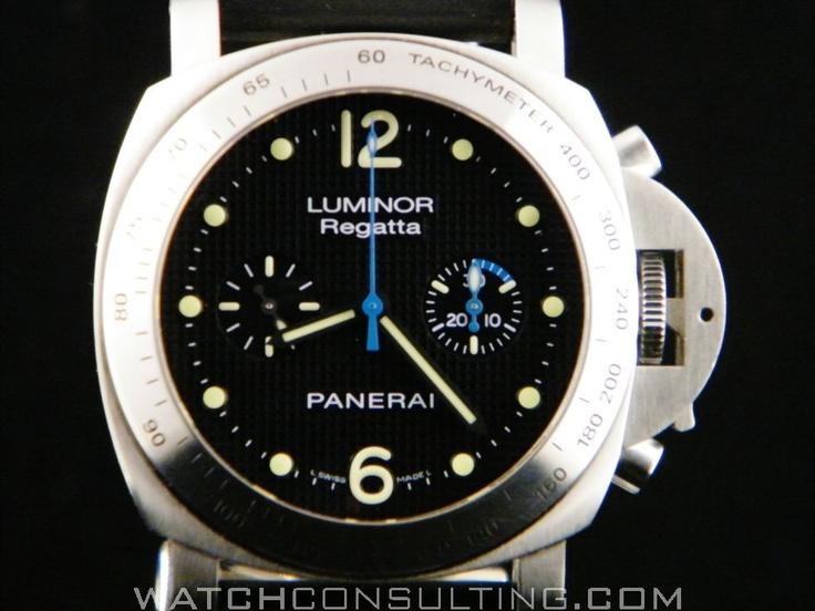 Vente et location de montres de luxe d'occasion - PANERAI REGATTA