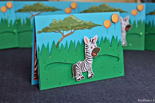 Zebra Party - invitations