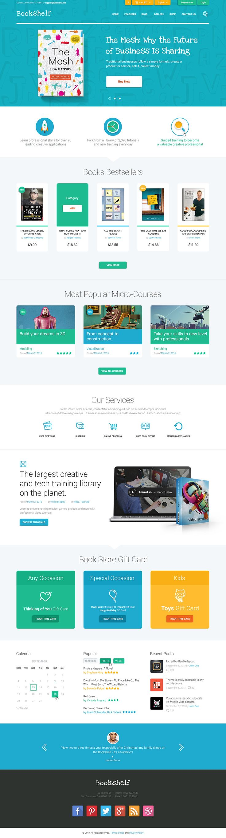 Bookshelf  Books & Media Online Store Is A Premium Wordpress Theme That  Will Be A