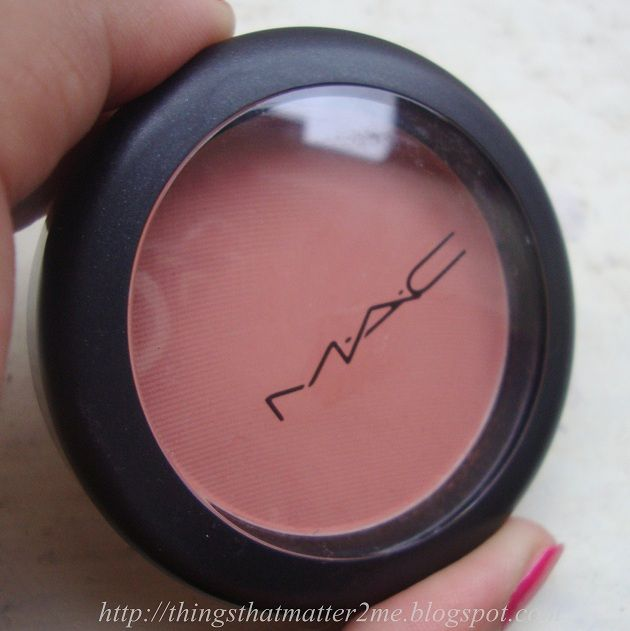 MAC Matte Powder Blush Melba  http://www.everything-thatmatters.com/2012/08/mac-matte-powder-blush.html