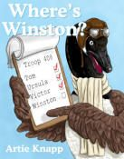 """Where's Winston"""" by Artie Knapp - As a flock of geese are about to migrate south for the winter, one of the flock's members turns up missing. Read or Print Story * Story Sequencing Cards * Word Search * Coloring Pages * Online Jigsaw Puzzle * Canadian Goose Facts * Craft Activity *"""