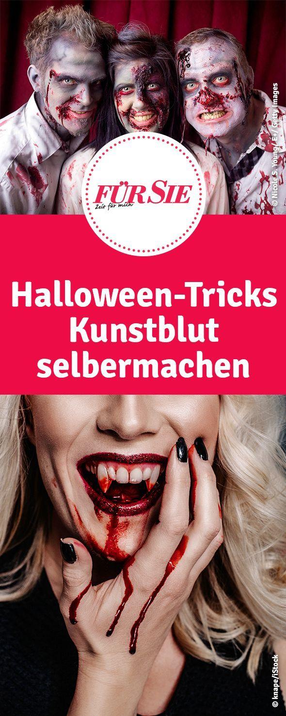 Gruselige Schminktipps Mädelszeug Halloween Pinterest