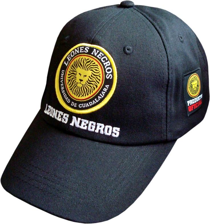 Gorra Leones NEgros UdG Bicolor $99