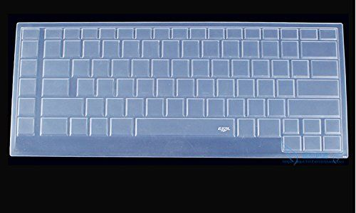 "CaseBuy Ultra Thin Silicone Keyboard Protector Cover Skin for New Dell Alienware 15 ANW15 R2 15.6"" Laptop US Layout(2015 Version)(Clear)"