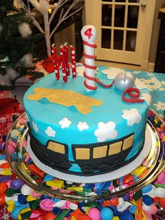 Life with my sister: All Aboard The Birthday Polar Express
