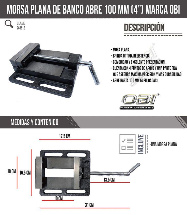 Prensa Morsa 4 Para Soporte De Taladro Cortadora Mordaza Obi - $ 331.00