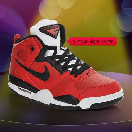 Men's Nike Air Flight Falcon Basketball Shoes at Shoe Carnival. @Shoe Carnival #shoecarnival