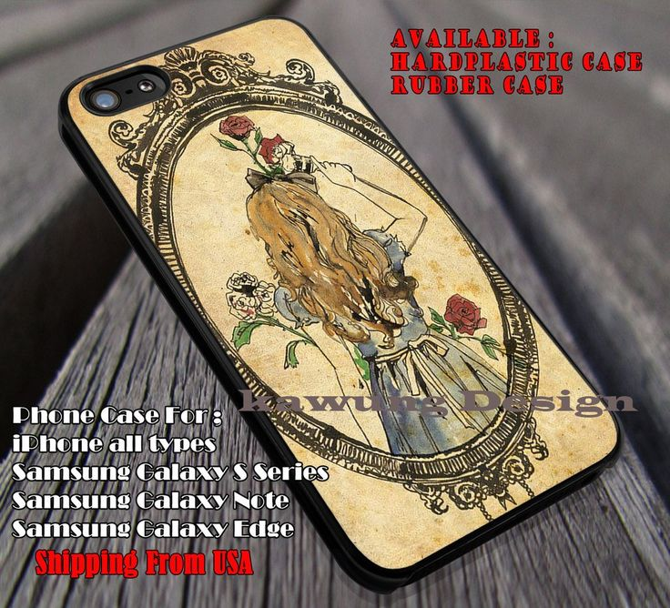 Watercolor Art On Paper Alice Rose, Alice In Wonderland, case/cover for iPhone 4/4s/5/5c/6/6 /6s/6s  Samsung Galaxy S4/S5/S6/Edge/Edge  NOTE 3/4/5 #cartoon #anime #alice ii