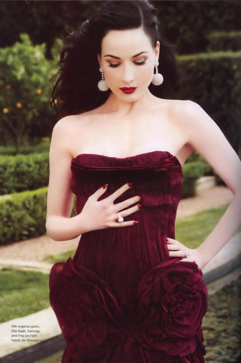 It is the color! - Dita Von Teese | Dress Up! | Pinterest | Dita von ...