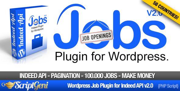 Jobs Plugin for Wordpress