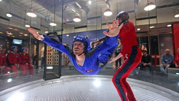 iFly Indoor Skydiving : Dallas (*tower is actually located in Frisco) ~ no need to jump out of an airplane with this wind tunnel simulation! instruction for beginners or practice time for pros