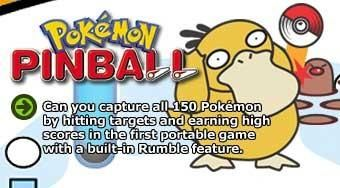 From the official artwork set for #Pokemon Pinball on the #GameBoy. http://www.pokemondungeon.com/pokemon-pinball