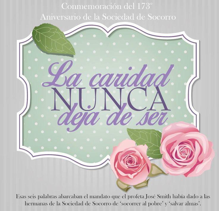 ¡Feliz Aniversario de la Sociedad de Socorro! Por: Hna. Paola Manqueo de Casco Sociedad de Socorro La Plata 2