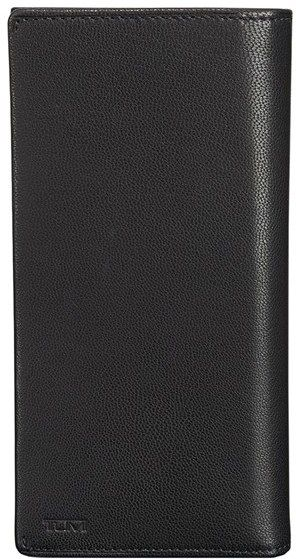 Men's Tumi 'Chambers' Leather Breast Pocket Wallet - Black