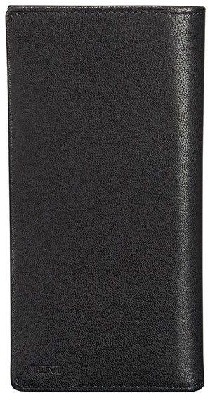 Men's Tumi 'Chambers' Leather Breast Pocket Wallet - Black