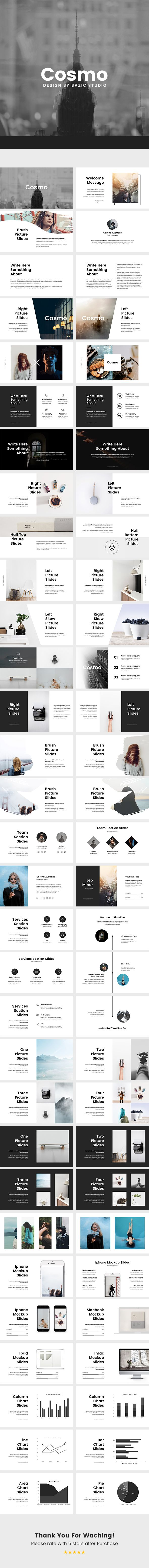 Cosmo Minimal Google Slides Template — Google Slides PPTX #chart #vector • Download ➝ https://graphicriver.net/item/cosmo-minimal-google-slides-template/18974266?ref=pxcr