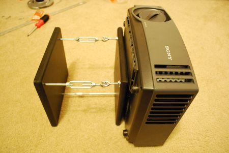 DIY Projector Mount but need a projector first.. http://www.projectorpeople.com/home-theater/professional.asp