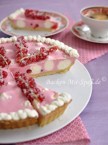 johannisbeer-tarte/Red Currant Tart....English translation button on ...