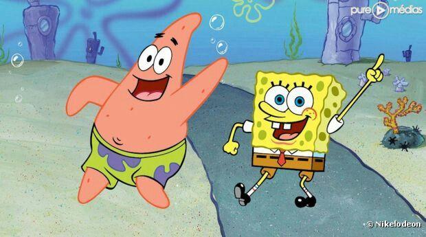 Patrick l'étoile de mer et Bob l'éponge carré.*-*