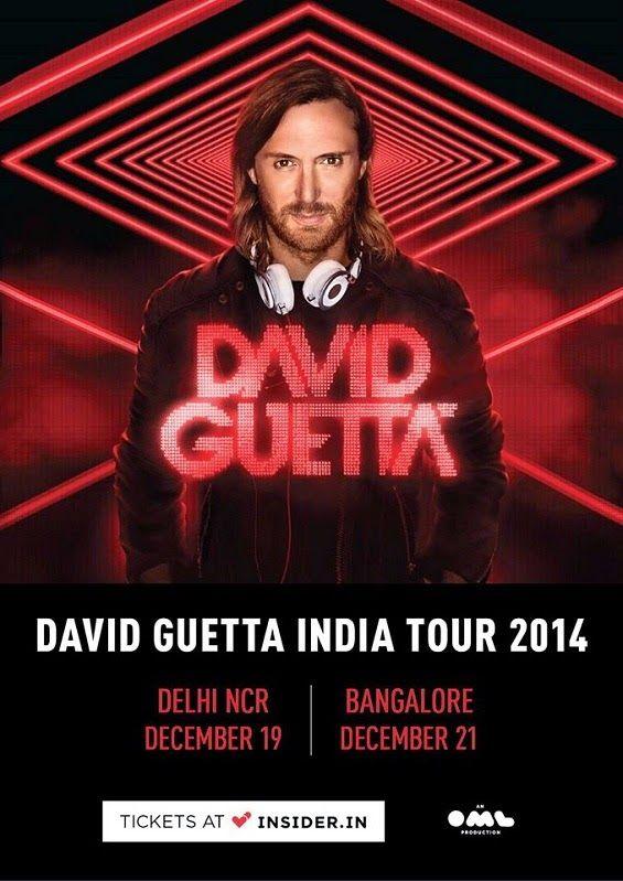 David Guetta India Tour 2014 - a day with the dance icon | Music Malt   More - http://www.musicmalt.com/2014/09/david-guetta-india-tour-2014.html