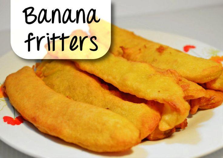 BANANA FRITTERS (gebakken banaan) recept