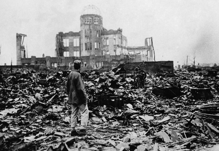 On the morning of August 6, 1945, American forces dropped an atomic bomb called the Little Boy on the city of Hiroshima. This harrowing photo was snapped shortly after.