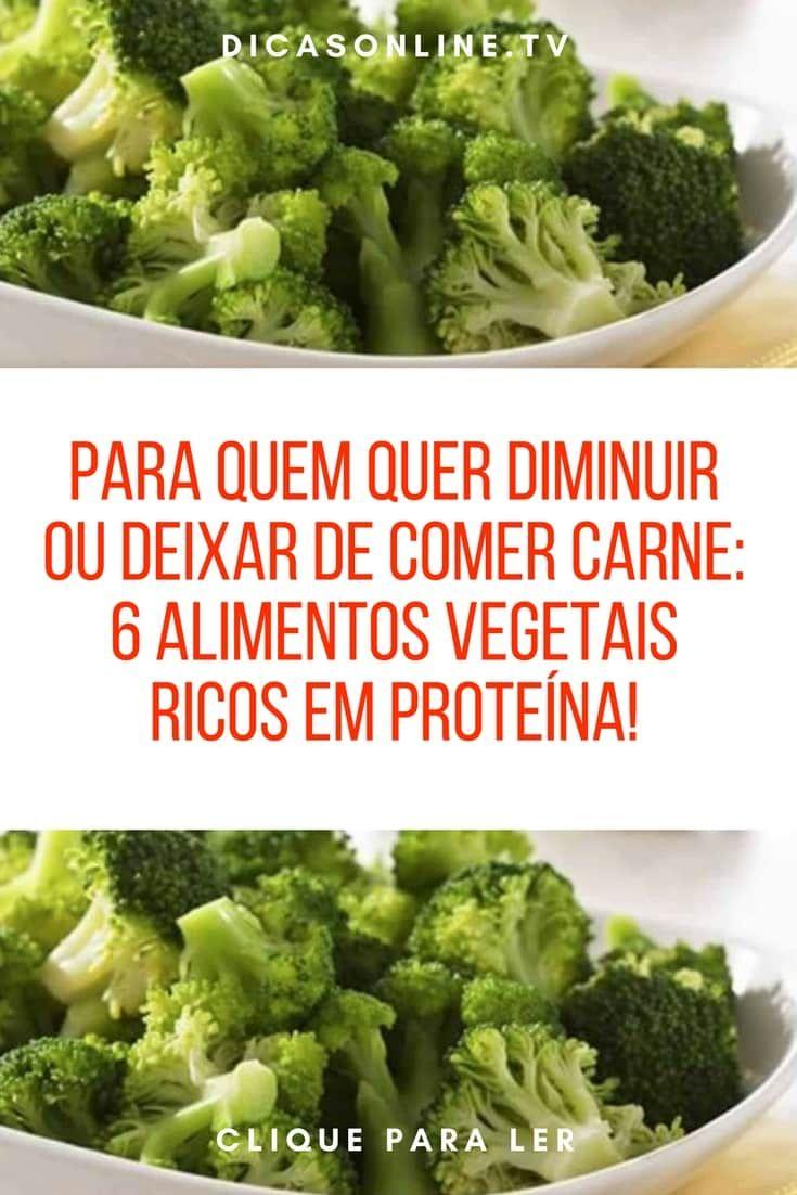 6 Alimentos Vegetais Ricos Em Proteina Saude Vegetais Ricos Em