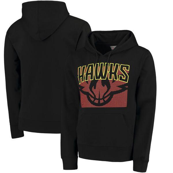 Atlanta Hawks UNK Fan Pullover Hoodie - Black - $38.99