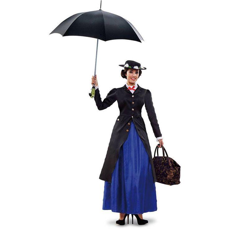 Déguisement Mary Poppins Luxe #déguisementsadultes #costumespouradultes #nouveauté2016